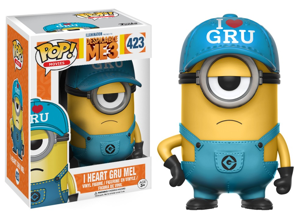 Funko Pop! I Heart Gru Mel (Despicable Me)